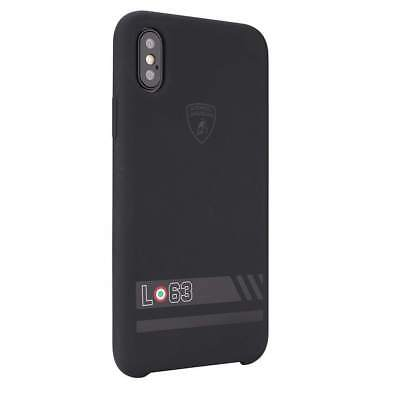 LAMBORGHINI HURACAN D13 Silicon iPhone X, iPhone Xs Back Case Cover Black