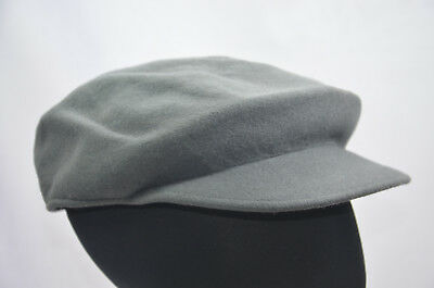 27610e85a98 KANGOL LITEFELT 5121BC WOOL GREY FLAT CAP HAT WATER REPELLENT LARGE 59cm NEW