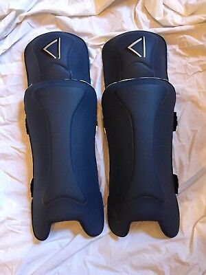 TNF Cricket Youth Ace Royale Wicket Keeping Pads Blue