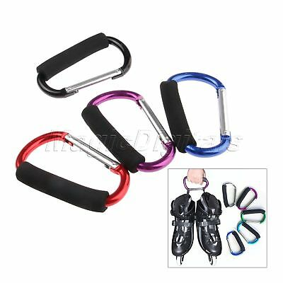 Lightweight Hanging Hook Roller Shoes Carrying Buckle Large DRing Carabiner Clip