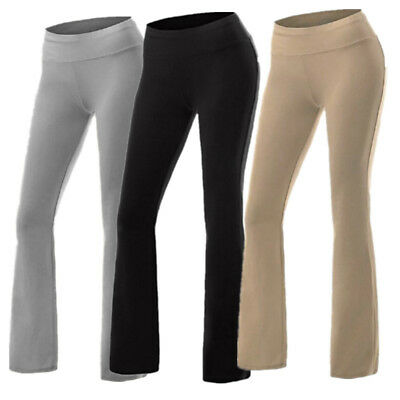 Femmes Yoga Fitness Leggings Gym Stretch Sport Pantalon Pantalon Taille S-XL