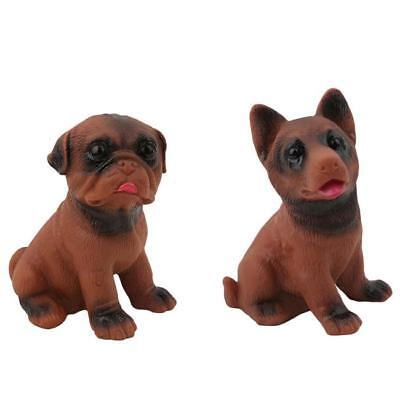 Ugly Scream Dog Squeezable Stress Reliever For Fun Kids Pets Toys Gifts Z