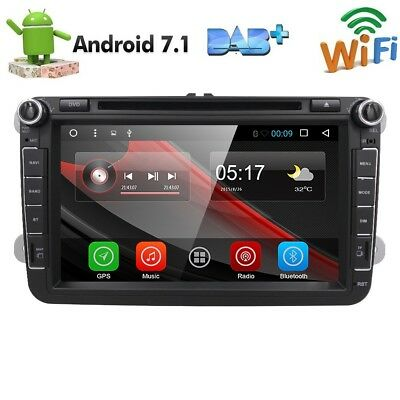 8'' Android 6.0 DVD GPS Sat Nav for VW GOLF MK5 MK6 PASSAT tiguan EOS touran T5