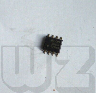 1 x OPA251UA Burr-Brown Single-Supply  Micro POWER Operational Amplifier