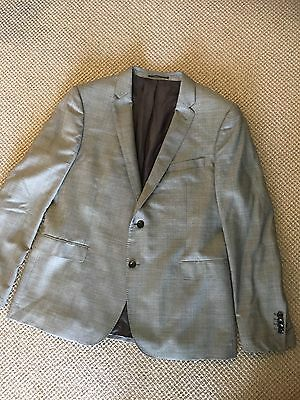 Rodd and Gunn Tailored Light Grey Suit, 46', Slim Fit As New Condition