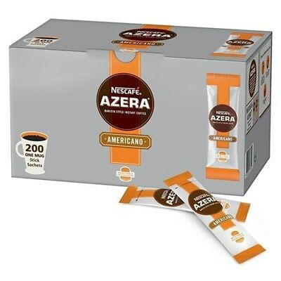 Nescafe Azera Instant Americano Coffee 2g Sachets Pack of 200