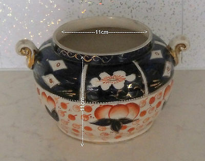 ART hand painted  dean sons tunstall made in england pottery pot