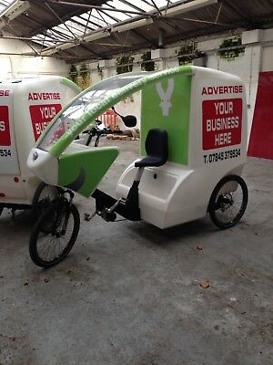 Advert And Delivery Bike