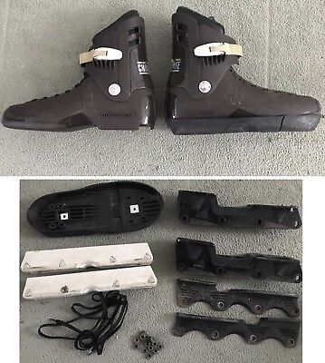 RARE Roller blade Chocolate Skates UFS Project NOT Valo Razors Roces Salomon USD