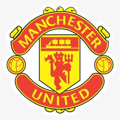 Manchester United UEFA DieCut Vinyl Decal Sticker Buy 1 Get 2 FREE