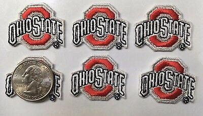 Buckeyes Ohio State OSU Patch Embroidered patch applique iron on (lot of 6 pcs.)