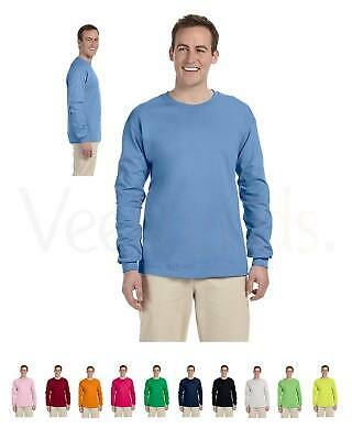 15% sale Fruit Of The Loom Men's Hd Cotton Long Sleeve Tee Shirt, 4930, S-2XL