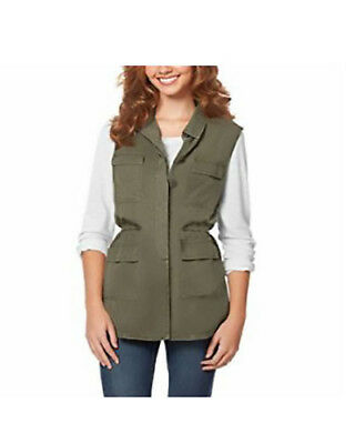 Buffalo David Bitton Ladies Lightweight Vest /S/P/ green