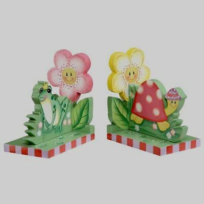 Fantasy Fields Magic Garden Frog Turtle Book Ends
