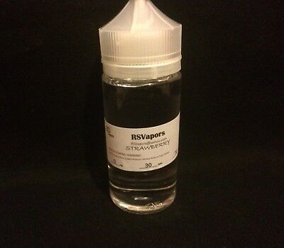100ml Strawberry/vape Flavored Liquid Limited Time  Fast Shipping US Seller