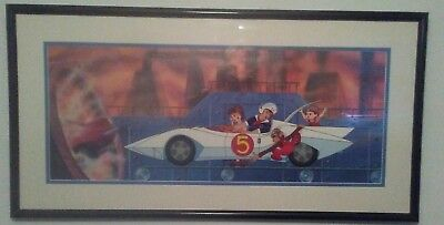 Speed Racer Hand Painted Cel LE 99/125 The Car Destroyer with original art coa