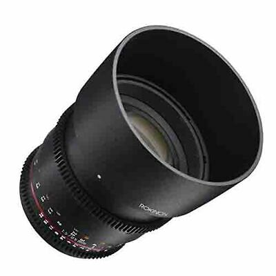 Rokinon 85mm T1.5 Cine DS Lens for Sony E-Mount - Full-Frame Coverage DS85M-NEX