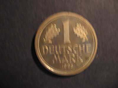 1 DM-1995-J--Mark-Kursmünze-.Jäger 385-