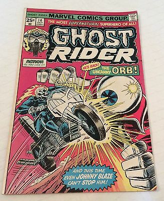 Ghost Rider 14 Oct 1975 Marvel Comics Very Good condition
