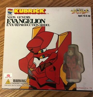 EVANGELION KUBRICK SET EVA-02 PRODUCTION MODEL Medicom Asuka