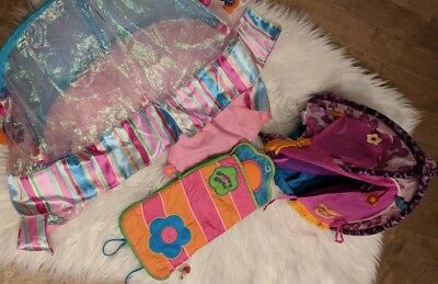 Groovy girls c&ing tent sleeping bags  Bombastic bed canopy Toys Accessories : groovy girls tent - memphite.com