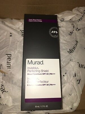 Murad Invisiblur Perfecting Shield SPF 30 30ml New Sealed Genuine