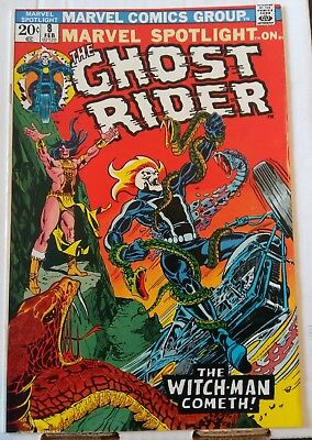 Marvel Spotlight #8 4th App. Ghost Rider Nice VF