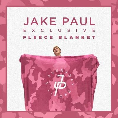 Jake Paul Fleece Blanket