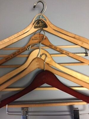 Vintage Wooden Clothes Hangers