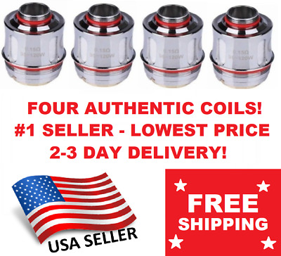 AUTHENTIC - FOUR (4) Uwell Valyrian Tank Coils 0.15 Ohm - DISCOUNTED FLASH SALE!