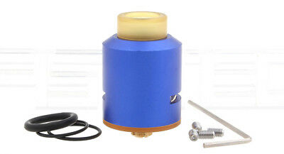 Mad Dog Styled RDA Rebuildable Dripping Atomizer Color Blue