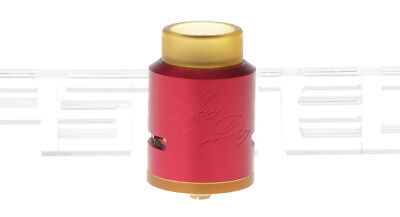 Mad Dog Styled RDA Rebuildable Dripping Atomizer Color Red