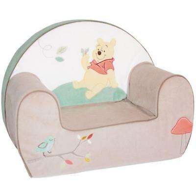 DISNEY Fauteuil Bébé Déhoussable Club Winnie - Velours - 25 cm