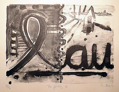 Karl Bale: The Fehling 'B', signierte Lithografie 2004