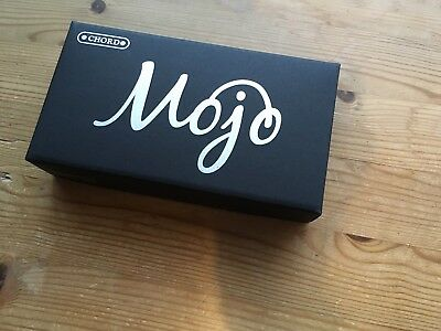 Chord Combined Mojo & Poly DAC Official Leather Case & Strap. Boxed, Free P&P!!
