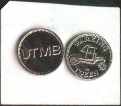 50 UTMB Parking Tokens University of Texas Medical Branch Galveston, Texas