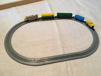 Vintage Micro Machines Train Set Galoob Union Pacific+++