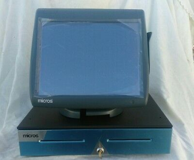 Micros Workstation 5A System Unit 400814-101, Stand, Cash Drawer -New-