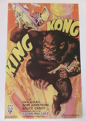 Art Deco - King Kong Framed Picture-  Amazing Colours - Really Beautiful