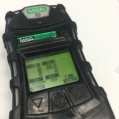 MSA Altair 5 multi gas detector, pump, calibrated and calibration cert included