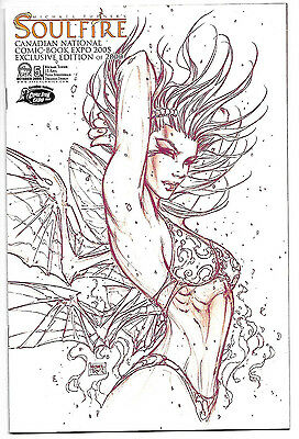 Michael Turner's Soulfire #5 Canadian National Comic-Book EXPO 2005 LTD 2000