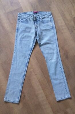 Ladies Womens Levis 524 TOO SUPERLOW SKINNY Stretch Jeans W30 L34 VGC.