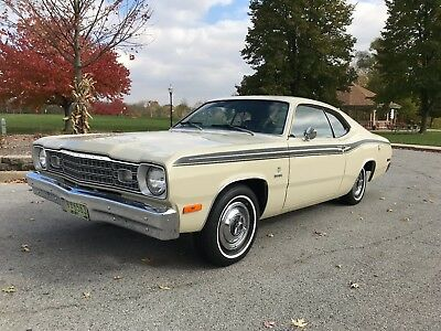 1973 Plymouth Duster  1973 Plymouth Duster 60K original well documented miles, like new, beautiful