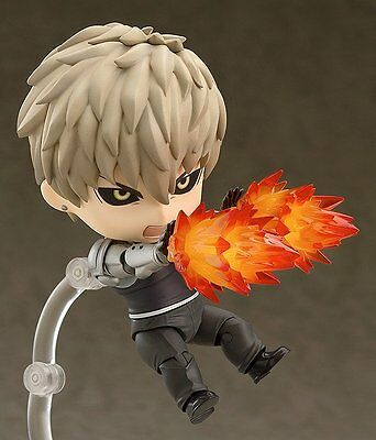 """Anime One Punch Man """"Genos"""" Nendoroid Action Figure 645 New No Box 10cm"""