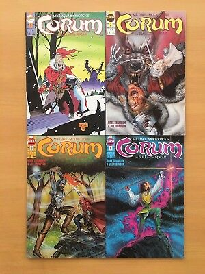 Corum The Bull and The Spear 1 2 3 4 Complete Set Lot 1-4 Moorcock First VF/NM