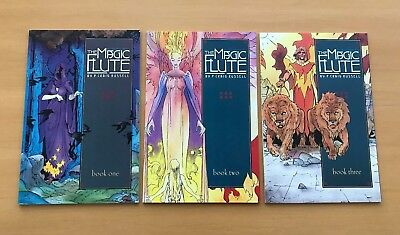 The Magic Flute #1 2 3 Complete Set Series Run Lot 1-3 VF/NM Craig Russell