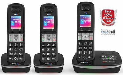 TELSTRA 3 HANDSET'S Call BLOCKER Guardian 301 Qaltel CORDLESS PHONES ANS/MACHINE