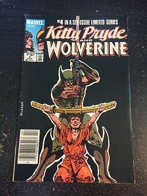 Kitty Pryde And Wolverine#4 Awesome Condition 8.0(1985) Milgrom Art!!