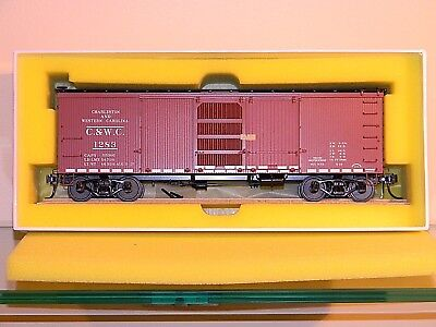 'Charleston & Western Carolina' Ventilator Car,  NIB - Brass Import