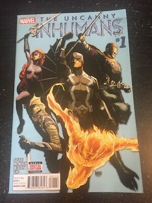 Uncanny Inhumans#1 Incredible Condition 9.2(2015) Wow!!